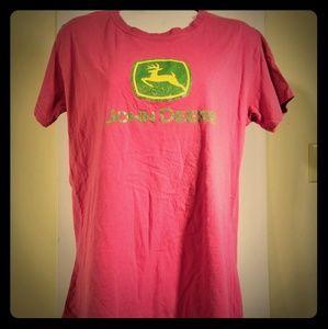 John Deere Womens John Deere Logo Cotton XL Tee